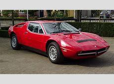 '73 Maserati Merak Union Jack Vintage Cars