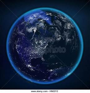 Earth From Space Lights Stock Photos & Earth From Space ...