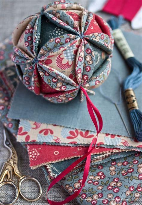 diy vintage christmas ball sewing pinterest vintage