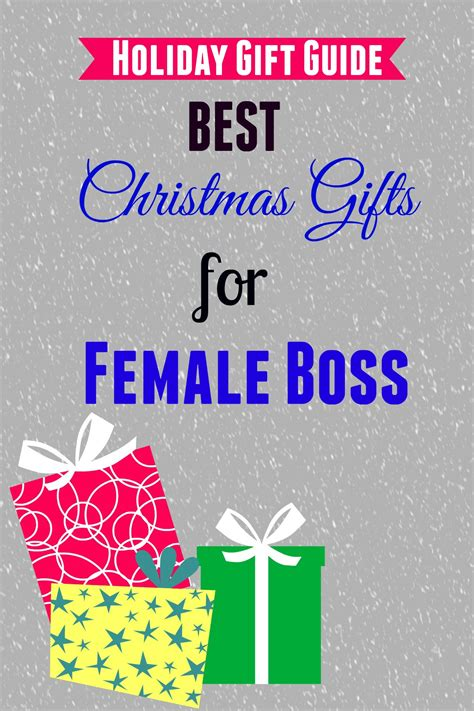 best christmas gifts for female boss girls gift blog