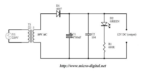 wave rectifier supply micro digital