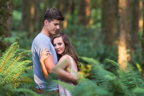 Romantic Forest Engagement From Randy Coleman Photography
