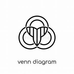 Overlapping Venn Diagram Stock Illustration  Illustration Of Concept