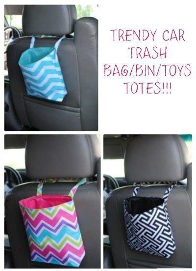 trendy car trash bag    days  organization