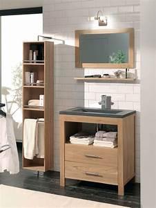 Miroir Salle De Bain Rangement : rangement pour salle de bains c t maison ~ Teatrodelosmanantiales.com Idées de Décoration