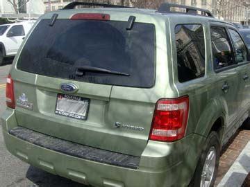How Fix Rear Door Hatch Ford Escape Hybrid
