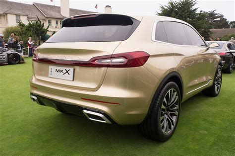 Lincoln Mkx Concept Rear View Photo 28