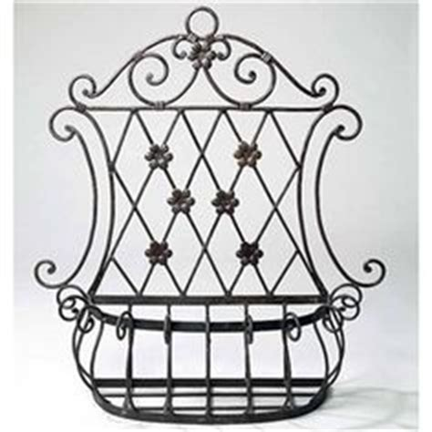 outdoor wall planters wrought iron 1000 images about wrought iron on wrought