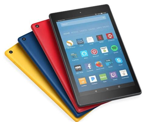 amazon updates kindle fire   fire hd  tablets