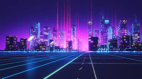 Sonic The Hedgehog Desktop Backgrounds 80s Style Retrowave Animation 00 Fubiz Media