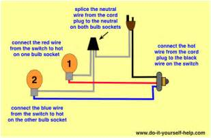 Black Lamp Socket by Lamp Switch Wiring Diagrams Do It Yourself Help Com