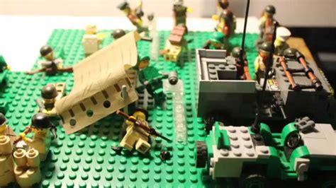 lego ww allied trench moc youtube