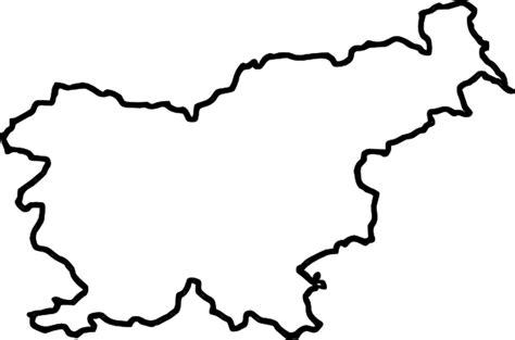 map  slovenia  europe clip art  clkercom vector
