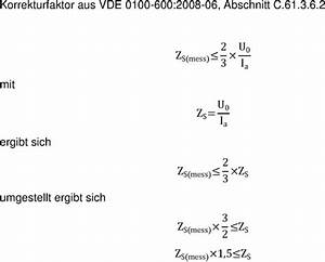 Netz Id Berechnen : schleifenimpedanzmessung seite 2 ~ Themetempest.com Abrechnung