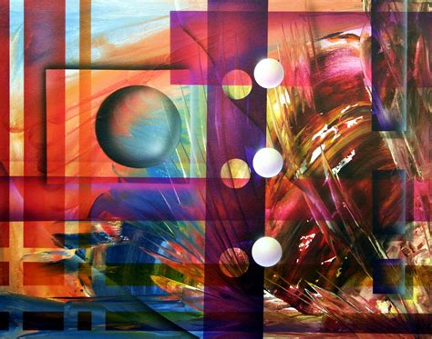 Contemporary Abstract Art Paintings — Dapore Abstracts 105