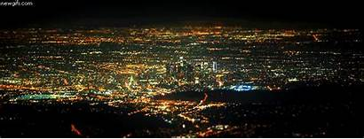 Night Lights Cityscape Los Angeles California Lovethispic