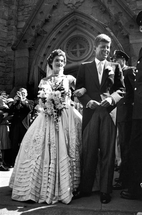 26 Candid Photographs From The Wedding Of John F Kennedy