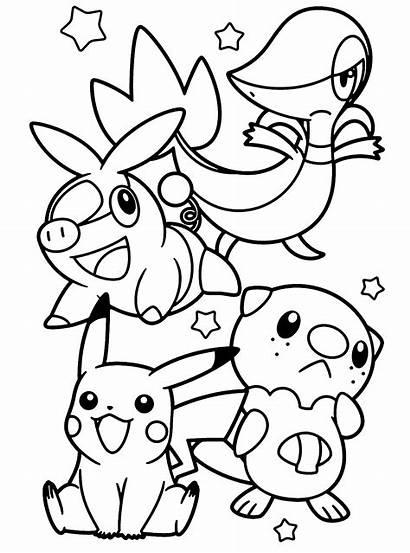 Pokemon Kleurplaten Coloring Kleurplaat Colorir Animaatjes Desenhos