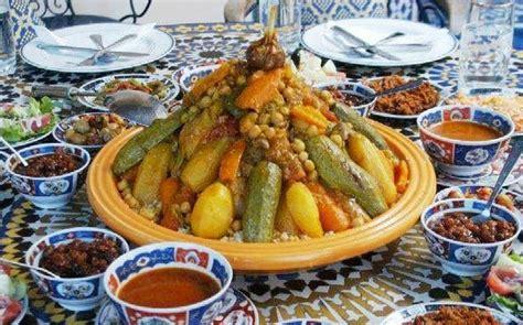maroc cuisine traditionnel idee repas facile couscous marocain recette couscous