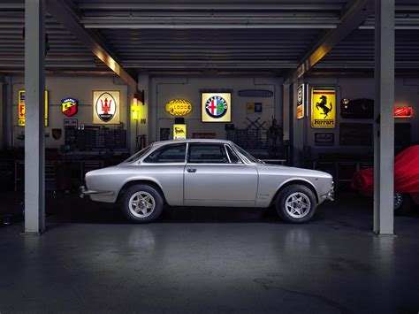 Oldtimer In Der Garage Die Kunst Des Winterschlafes