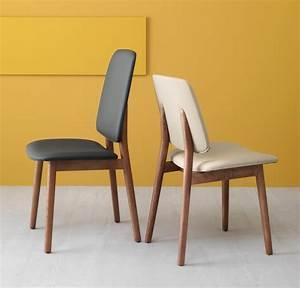 Stuhl Eiche Leder : design stuhl in eiche und ko leder hohe r cken idfdesign ~ Watch28wear.com Haus und Dekorationen
