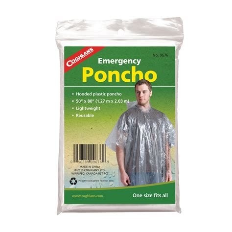 how to repair furniture emergency poncho lightweight clear plastic coghlan 39 s