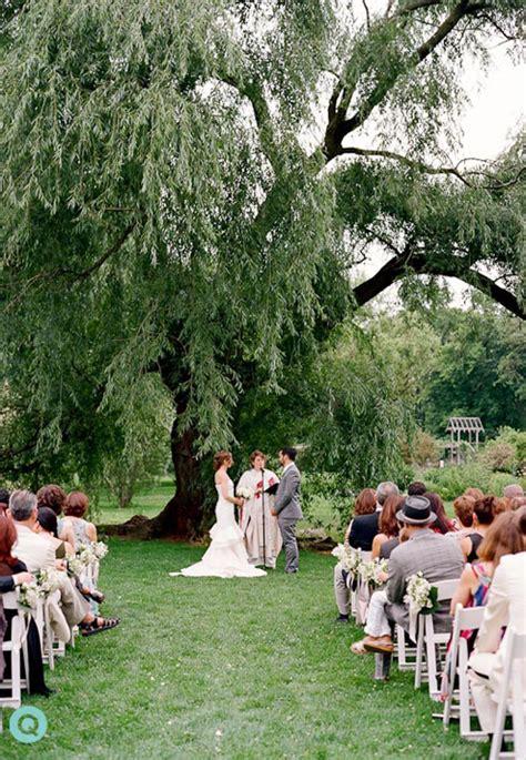 a zaffa at a summer wedding at botanic garden q
