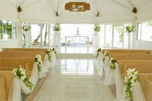 Goes Wedding » Holly Floral Church Wedding Decoration Ideas