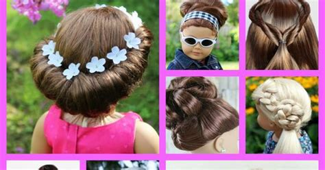 American Girl Doll Hairstyles Round Up