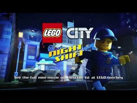 night shift lego city trailer youtube