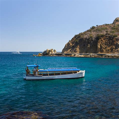 Catalina Island Glass Bottom Boat by Catalina Island Activities And Adventure Things To