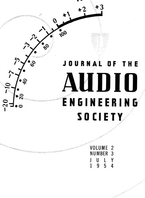aes  library complete journal volume  issue