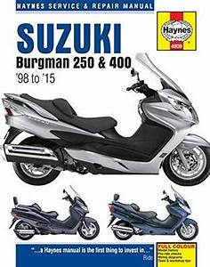 Suzuki An400 Burgman Service Repair Manual 2003 Onwards  U2013 The Workshop Manual Store