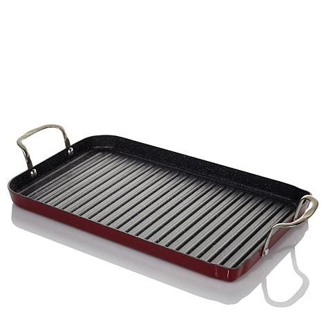 electric griddle pan reviews curtis durapan nonstick burner grill pan with
