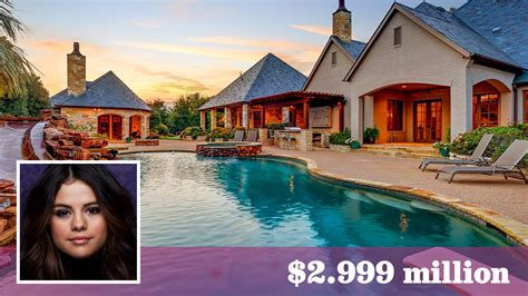 Selena Gomez Seeks $3 Million For Her Mansion In The Lone