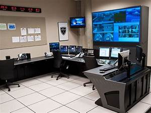 Custom Security Consoles And Surveillance Control Rooms