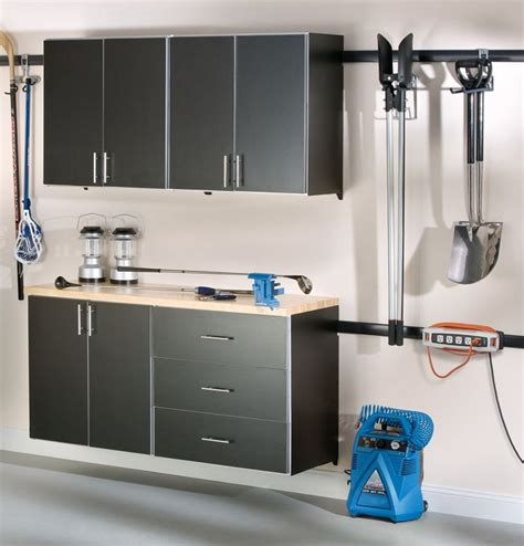 Garage Shelving Track by Rubrmaid Fast Track Garage System Space In