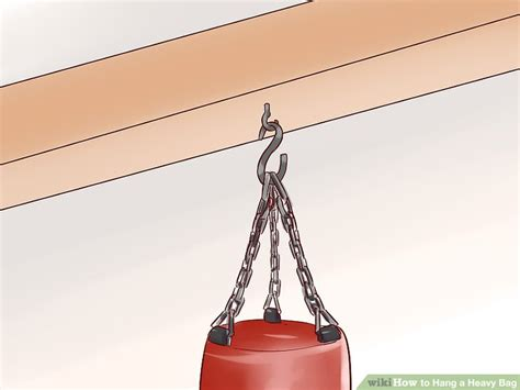 3 Ways To Hang A Heavy Bag Wikihow