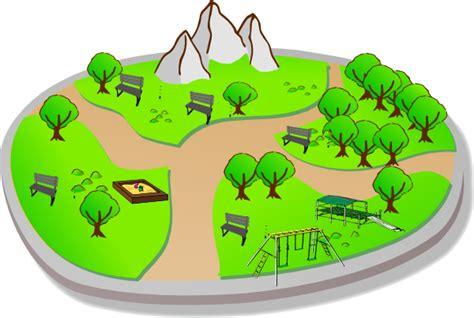 Park Clip City Park Clip At Clker Vector Clip