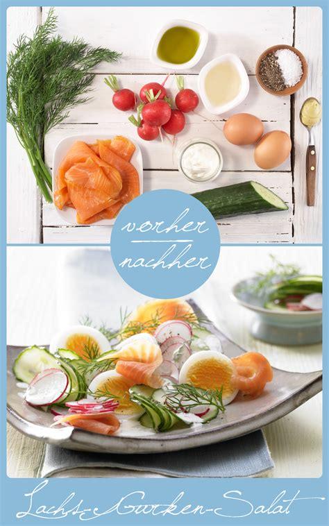 Lachsgurkensalat  Rezept  Eat Healthy, Eat Smarter