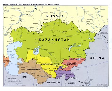 maps  central asia collection  maps  central asia