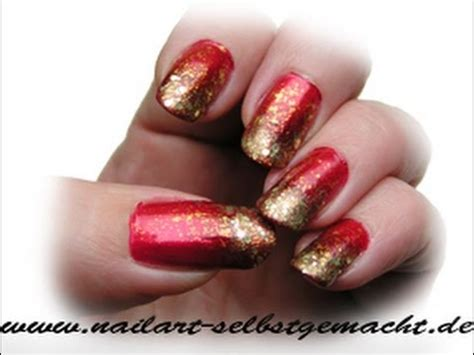 sponge nail art tutorial redgold easy step  step ombre