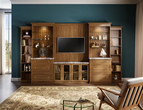 built  entertainment centers media cabinets