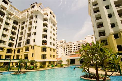 Purva Riviera: Pool | Located in a serene setting on ...