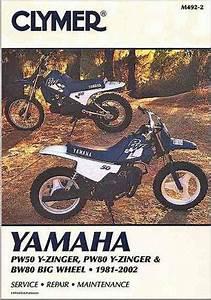Yamaha Pw50  Pw80 Y-zinger  Bw80 1981