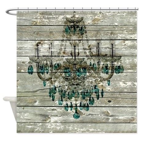 chandelier shower curtain shabby chic barn vintage chandelier shower curtain by