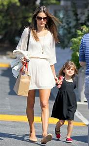 Alessandra Ambrosio And Her Kids Leaving The Country Mart ...