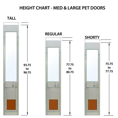 electronic doggie power pet electronic pet door for sliding glass patio doors