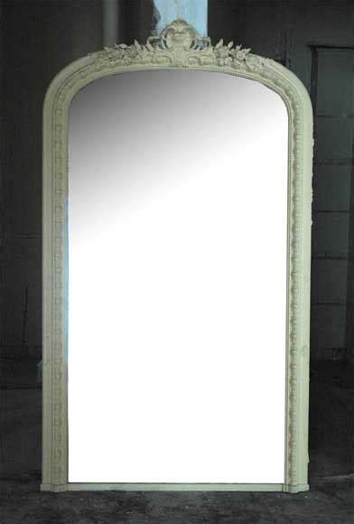 miroir ancien de style louis xv 224 d 233 cor de coquille glaces miroirs et trumeaux