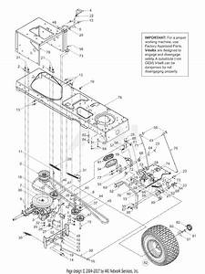 Mtd 13bs608h131  2003  Parts Diagram For Drive  Controls  Wheels Rear